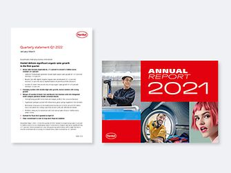 Covers of Henkel reports